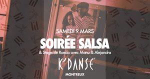 SOIRÉE SALSA @ K'DANSE MONTREUX @ K Danse Montreux | Montreux | Vaud | Suisse